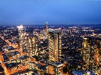 Frankfurt Skyline - Sedan Service